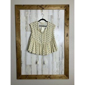 Altard State Ivory multi BE17546 sleeveless top